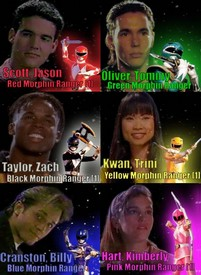 "Mighty Morphin Power Rangers"": The O.G. of the Rangers"
